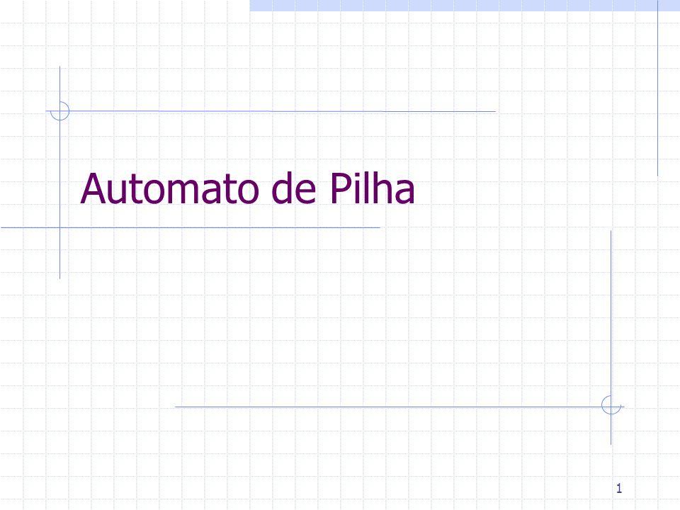 Automato de Pilha