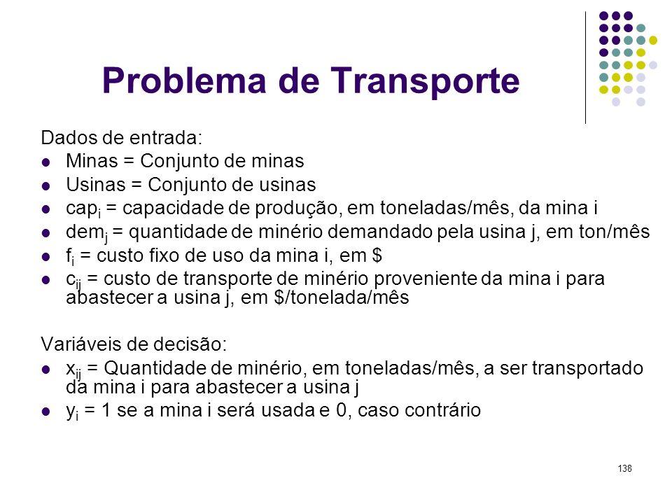 Problema de Transporte