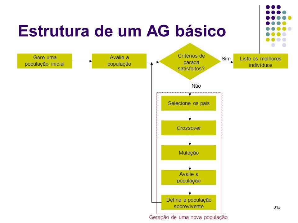 Estrutura de um AG básico