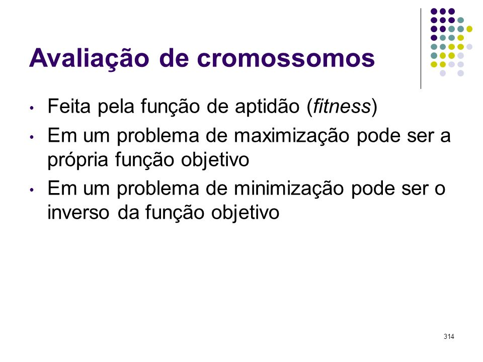 Avaliação de cromossomos