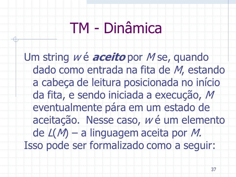 TM - Dinâmica