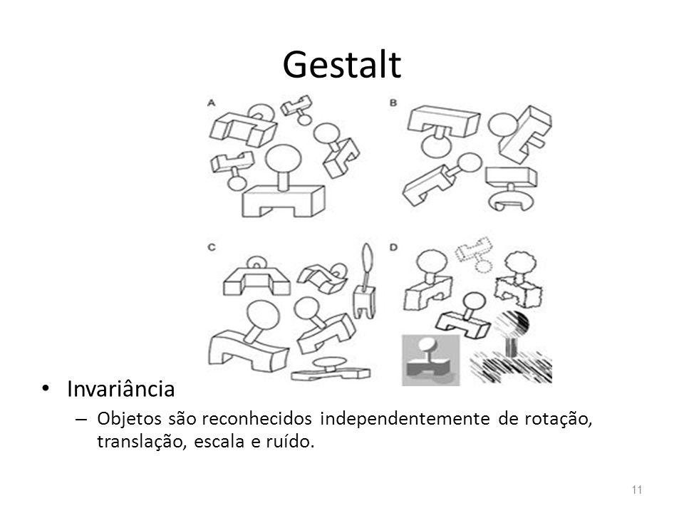 Gestalt Invariância.