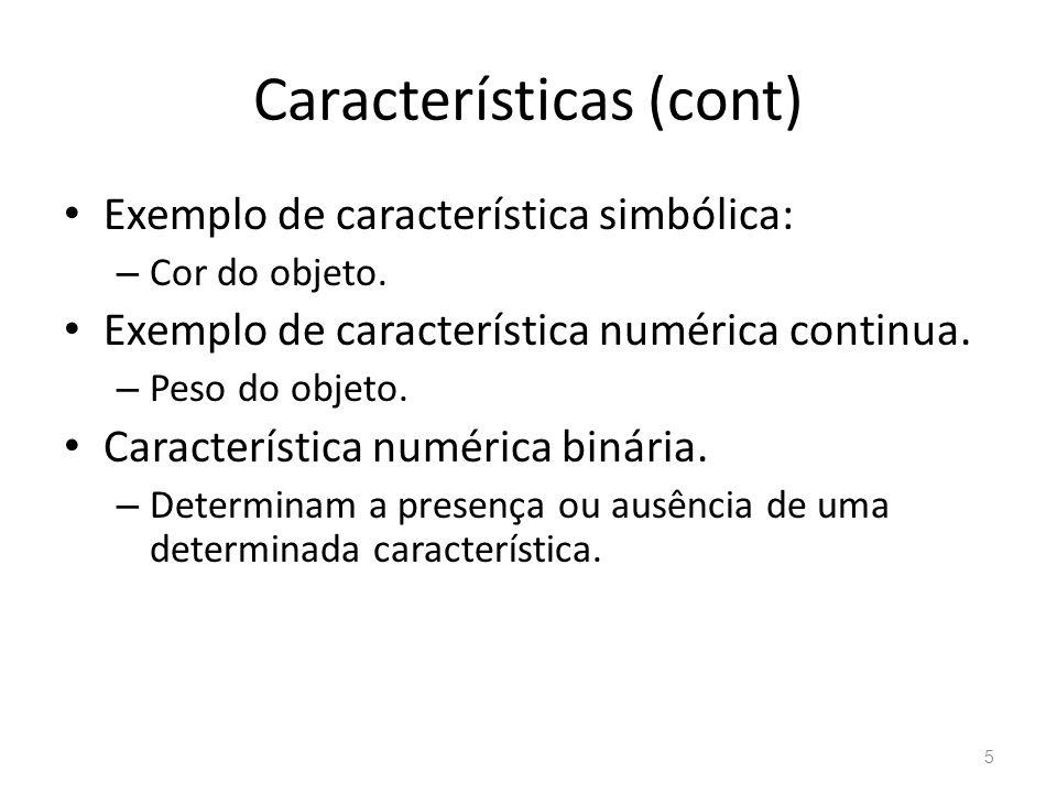 Características (cont)