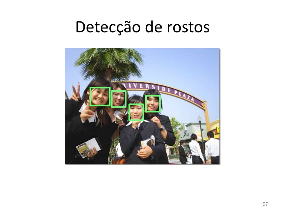 Detecção de rostos