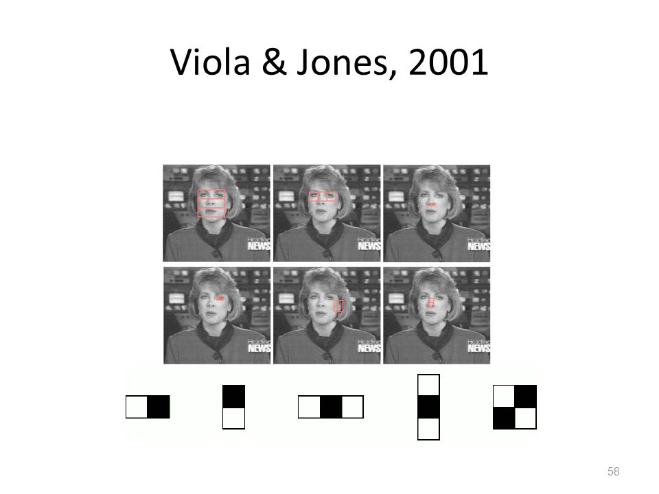 Viola & Jones, 2001