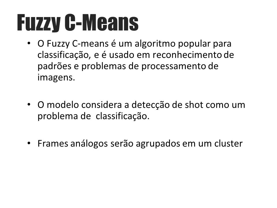 Fuzzy C-Means