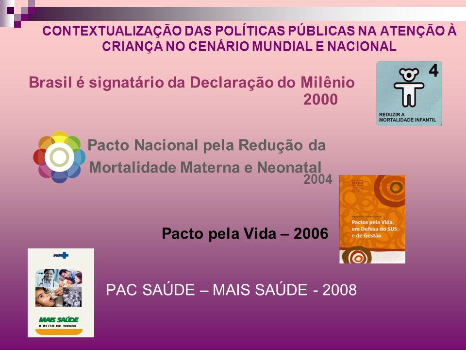 Brasil é signatário da Declaração do Milênio 2000