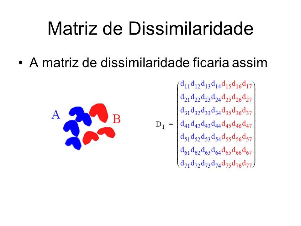 Matriz de Dissimilaridade