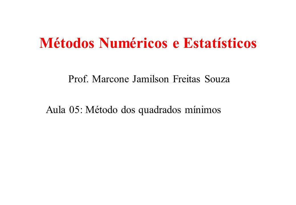 Métodos Numéricos e Estatísticos