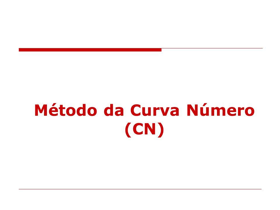 Método da Curva Número (CN)