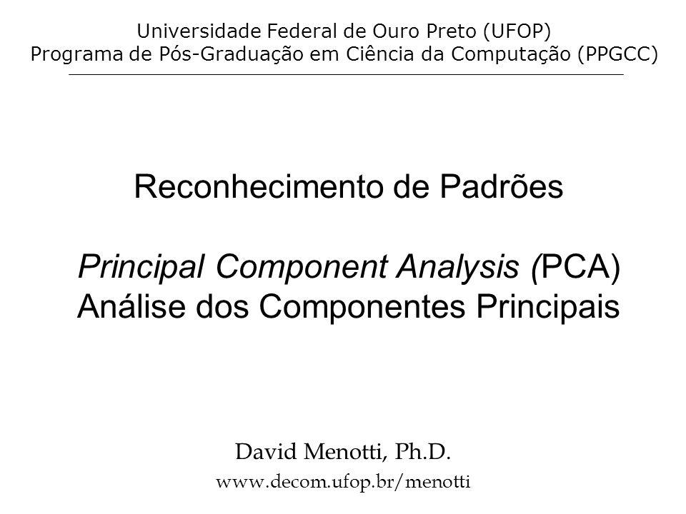 David Menotti, Ph.D. www.decom.ufop.br/menotti