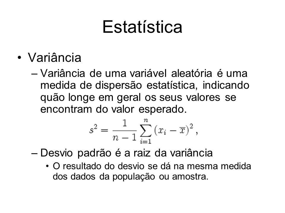Estatística Variância