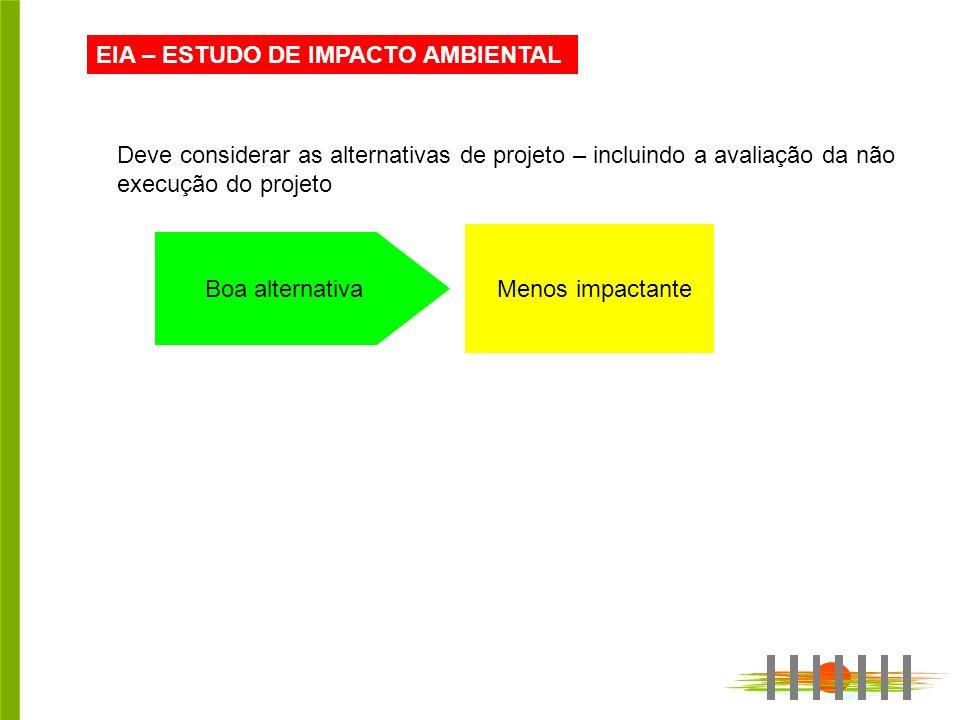EIA – ESTUDO DE IMPACTO AMBIENTAL