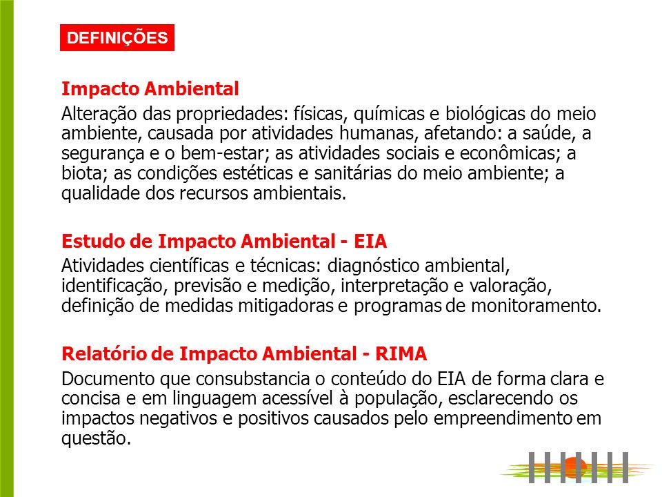 Estudo de Impacto Ambiental - EIA