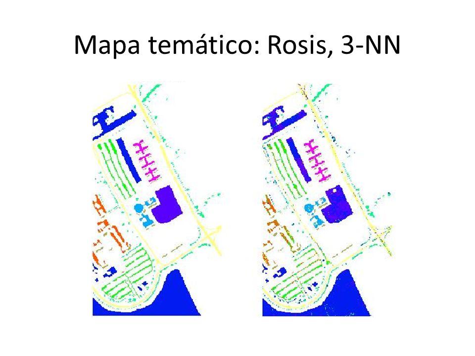 Mapa temático: Rosis, 3-NN