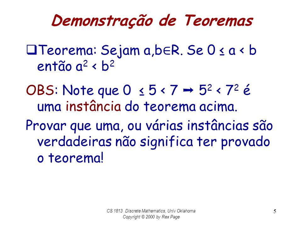 Demonstração de Teoremas