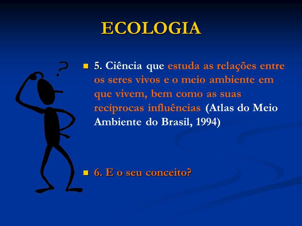 ECOLOGIA
