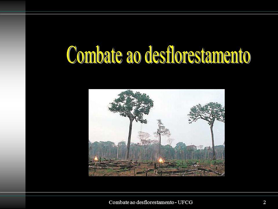 Combate ao desflorestamento