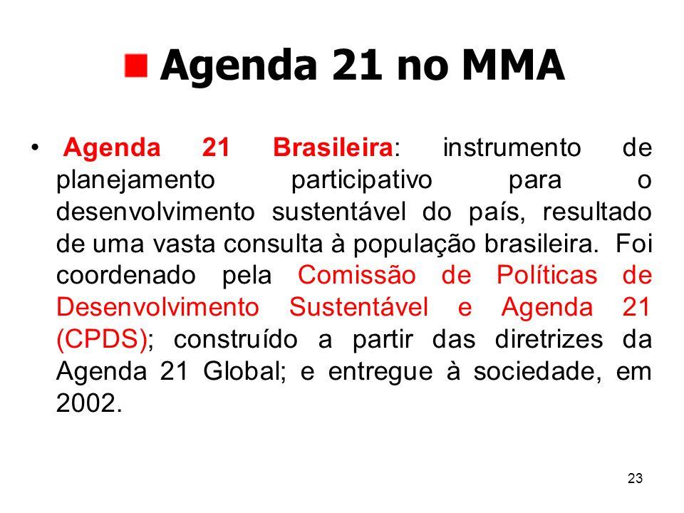 Agenda 21 no MMA