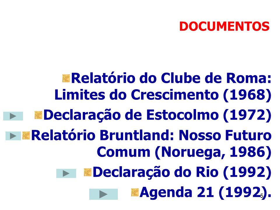 Relatório do Clube de Roma: Limites do Crescimento (1968)