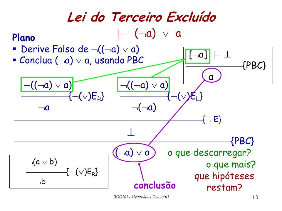 Lei do Terceiro Excluído |– (a)  a