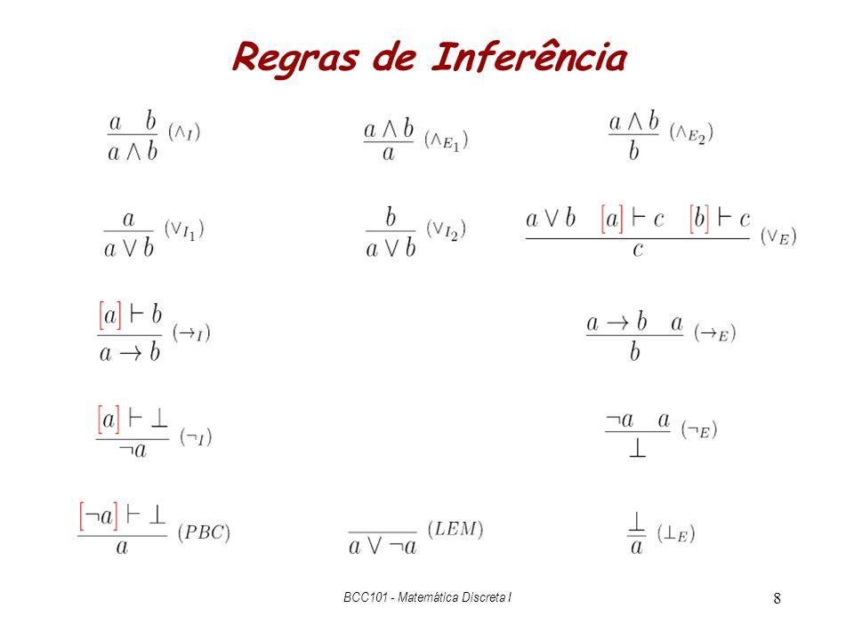 BCC101 - Matemática Discreta I