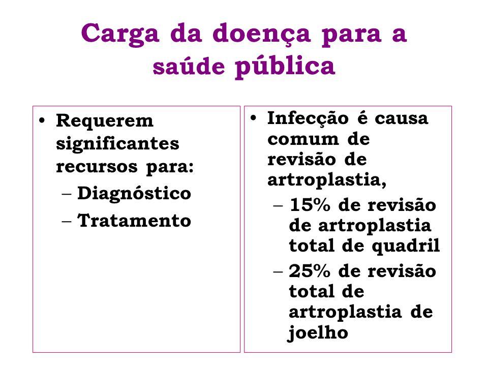 Carga da doença para a saúde pública