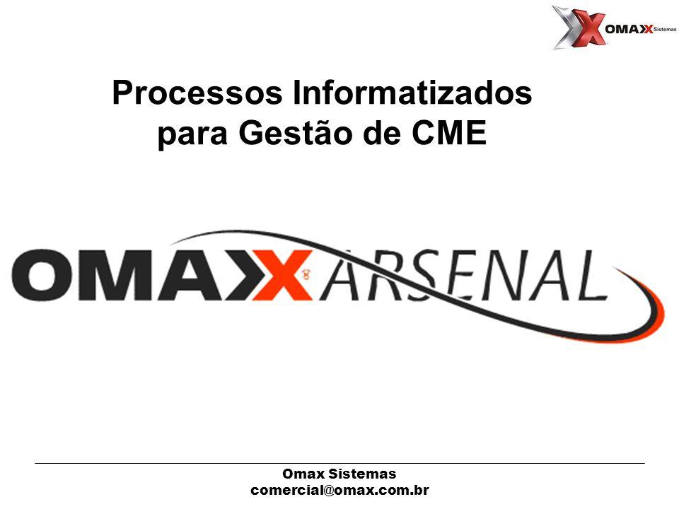Processos Informatizados para Gestão de CME