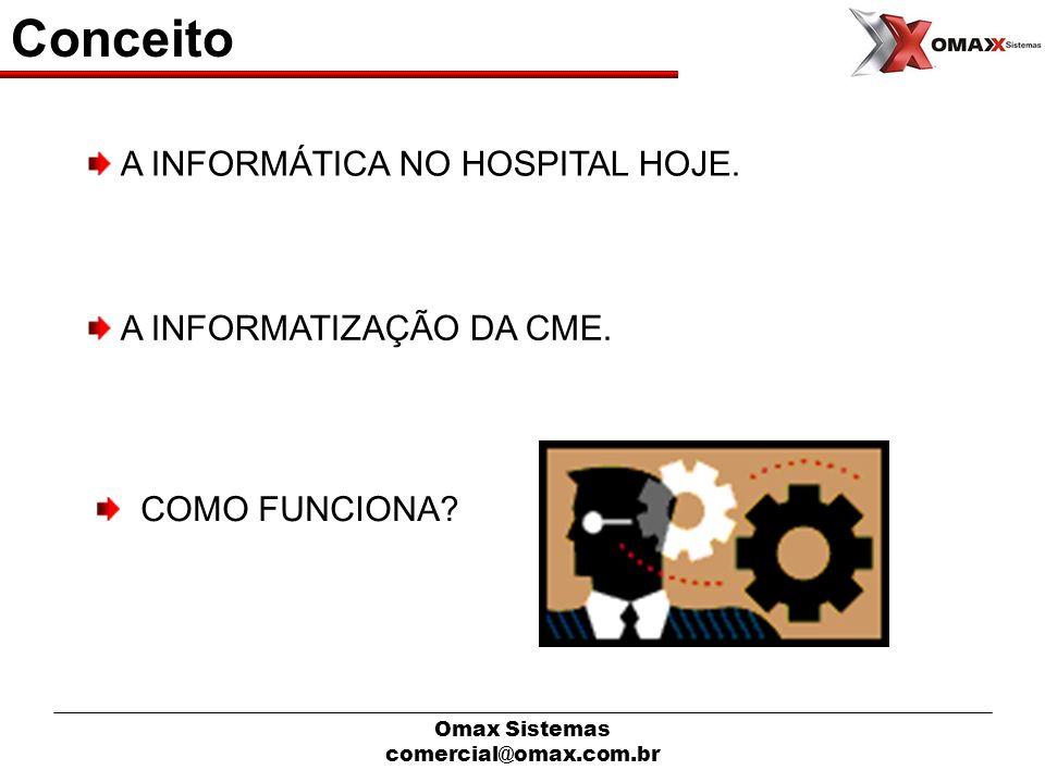 Conceito A INFORMÁTICA NO HOSPITAL HOJE. A INFORMATIZAÇÃO DA CME.