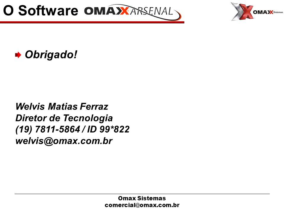 O Software Obrigado! Welvis Matias Ferraz Diretor de Tecnologia