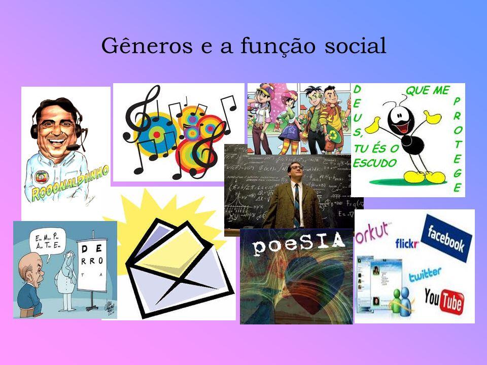 Gêneros e a função social