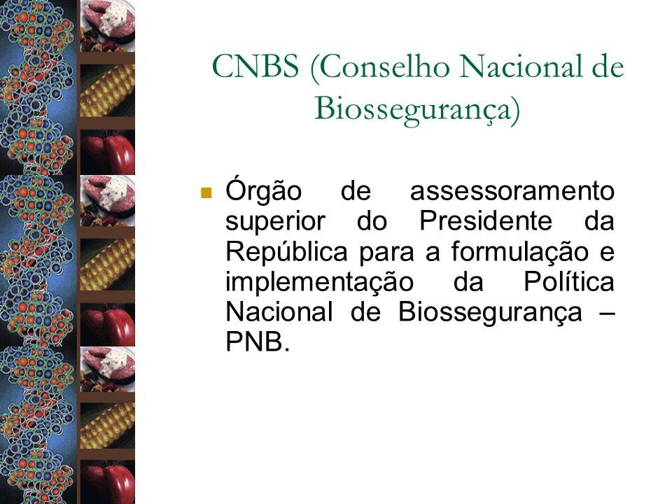 CNBS (Conselho Nacional de Biossegurança)