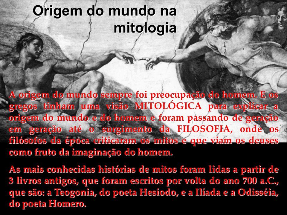 Origem do mundo na mitologia