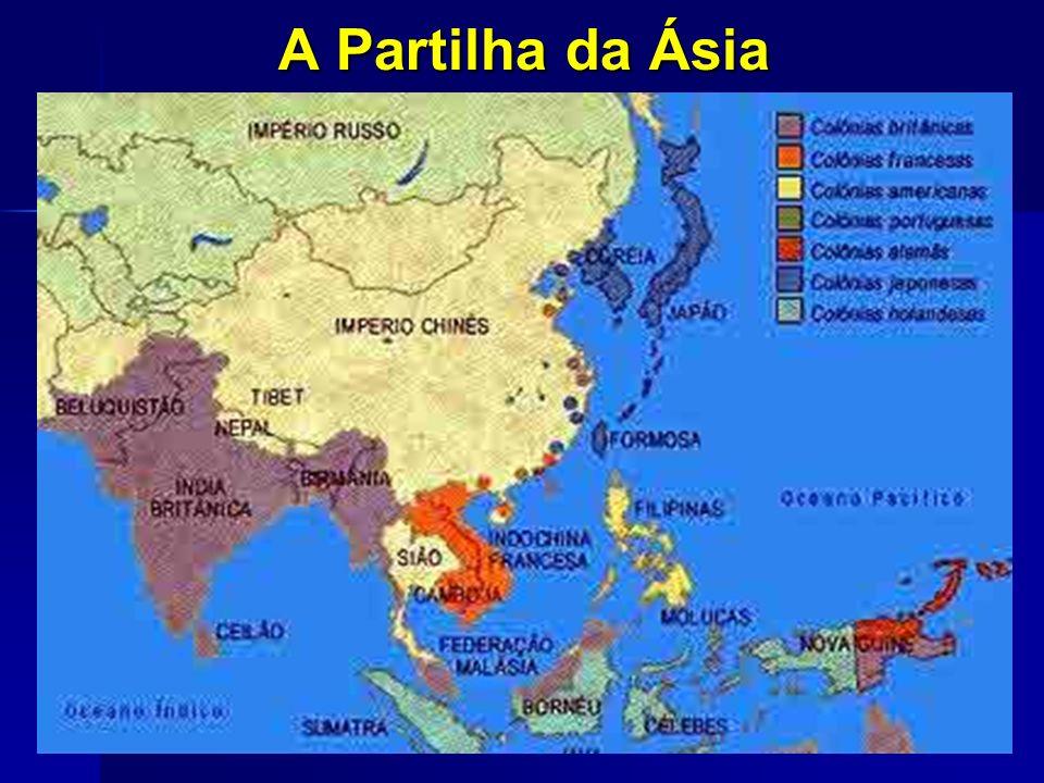 A Partilha da Ásia