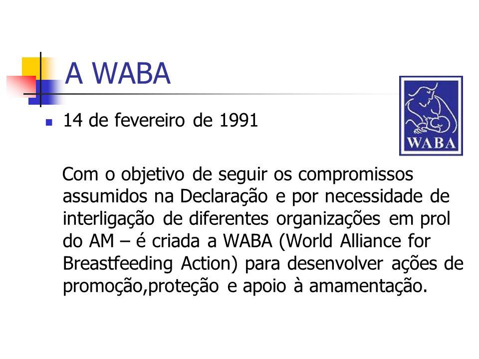A WABA 14 de fevereiro de 1991.