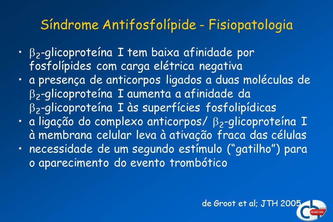 Síndrome Antifosfolípide - Fisiopatologia