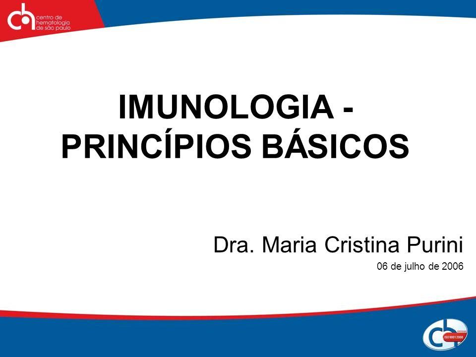 IMUNOLOGIA - PRINCÍPIOS BÁSICOS
