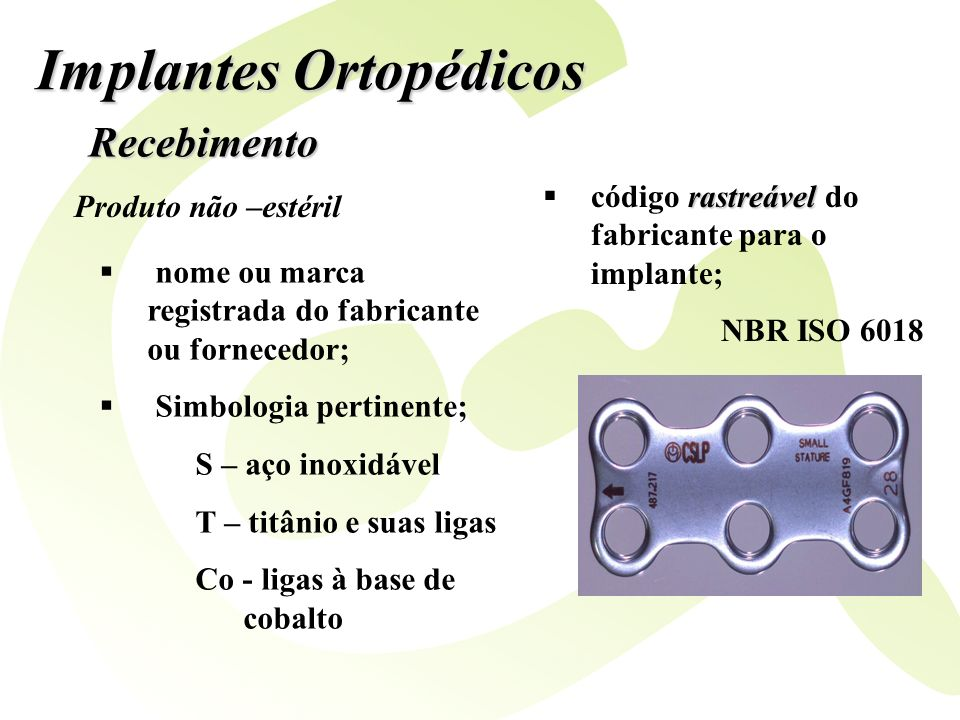 Implantes Ortopédicos