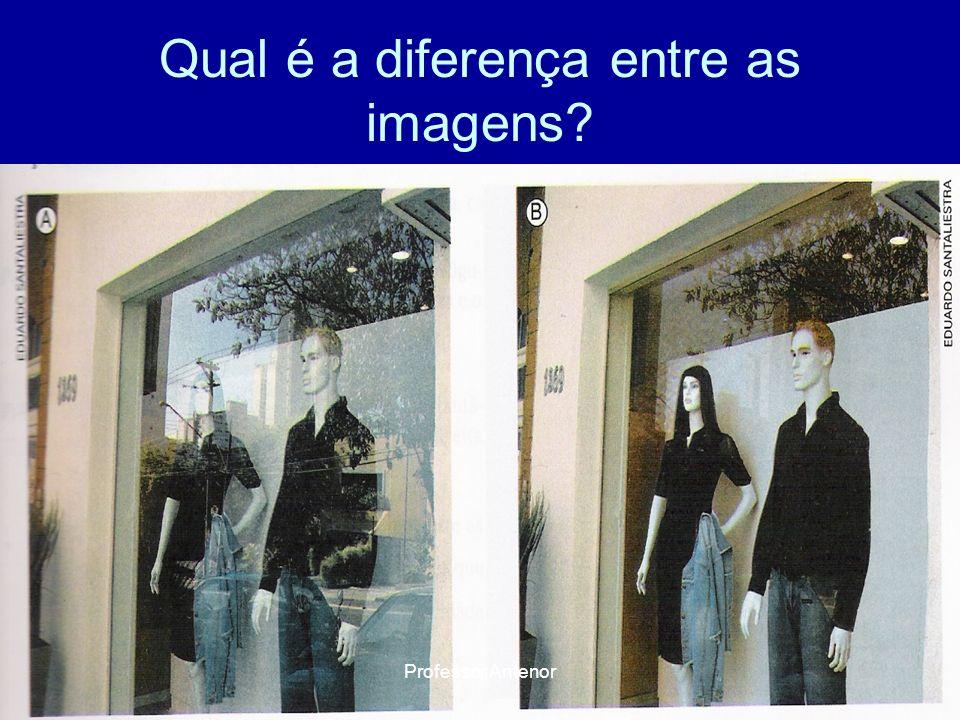 Qual é a diferença entre as imagens