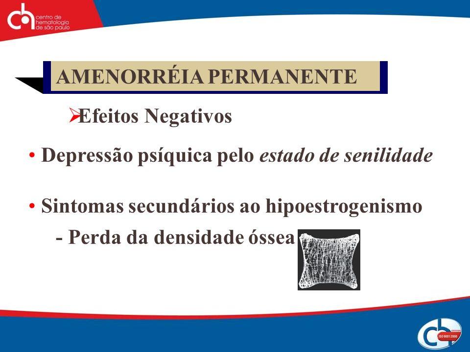 AMENORRÉIA PERMANENTE