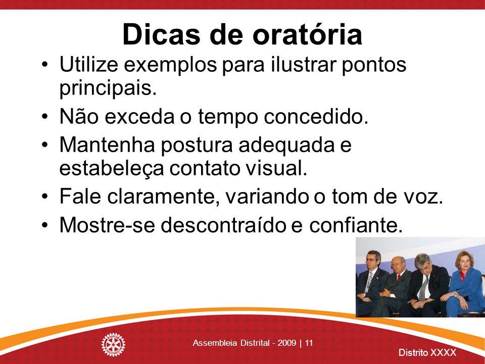 Assembleia Distrital - 2009 | 11
