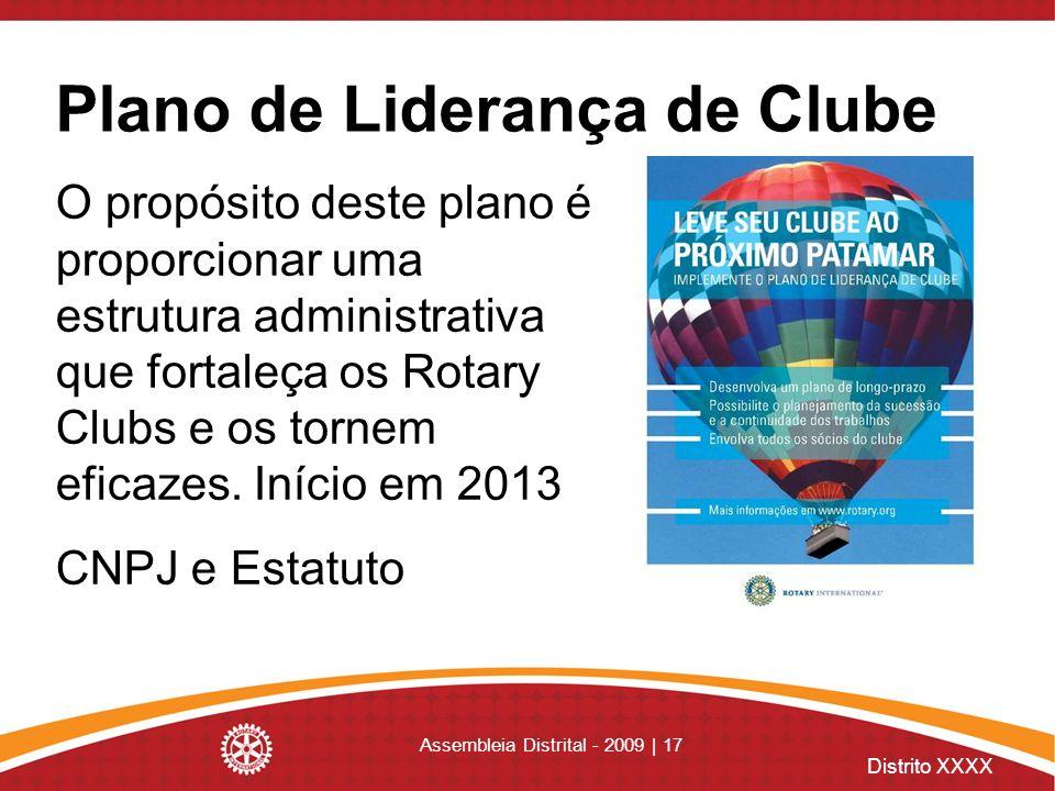 Plano de Liderança de Clube
