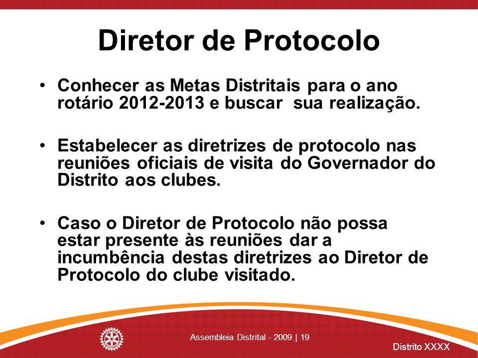 Assembleia Distrital - 2009 | 19