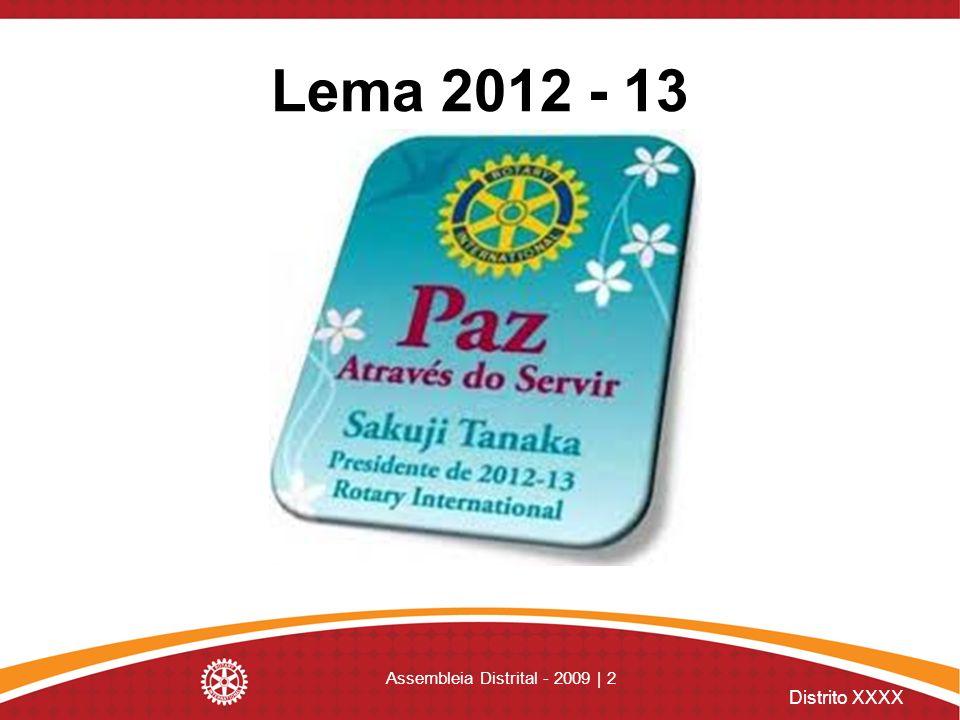 Assembleia Distrital - 2009 | 2