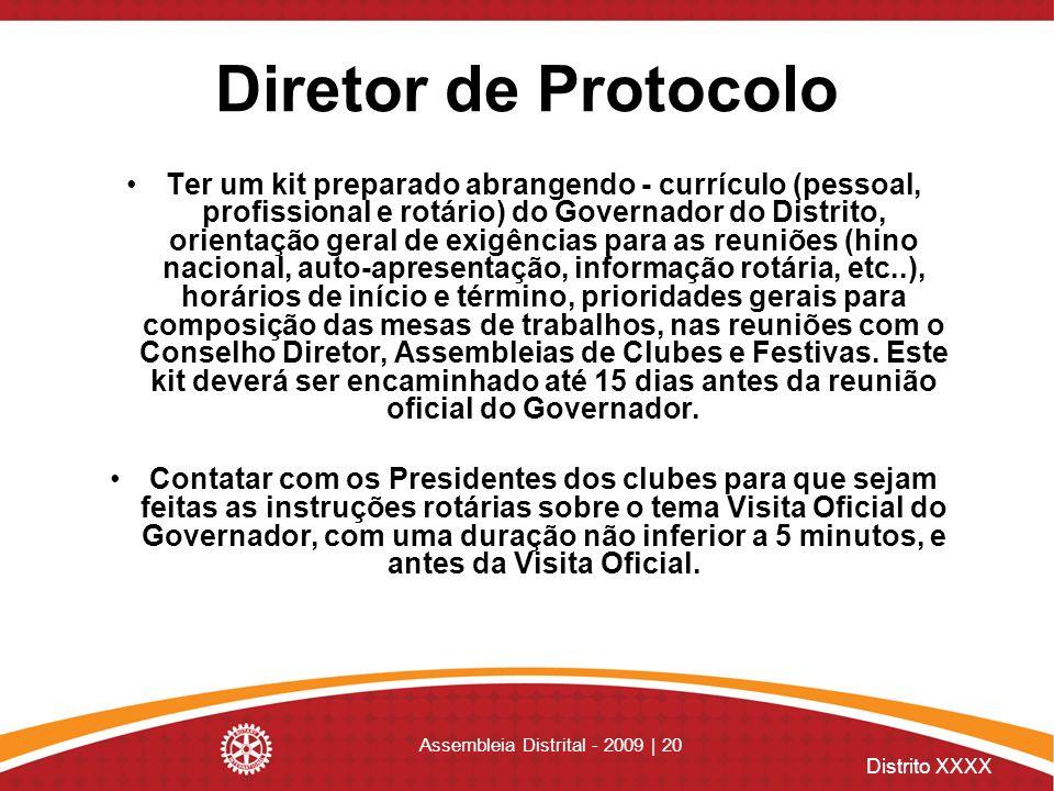Assembleia Distrital - 2009 | 20