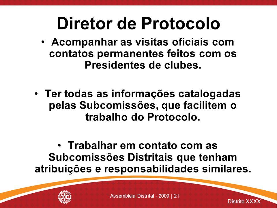 Assembleia Distrital - 2009 | 21