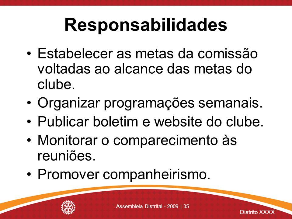 Assembleia Distrital - 2009 | 35