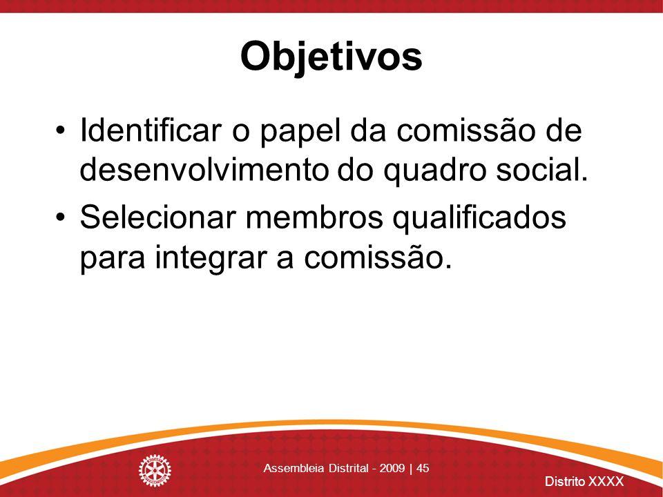 Assembleia Distrital - 2009 | 45