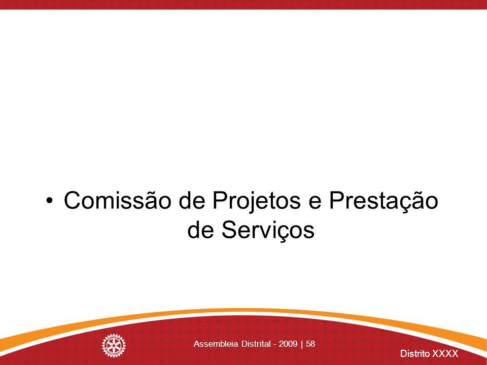 Comissão de Projetos e Prestação de Serviços