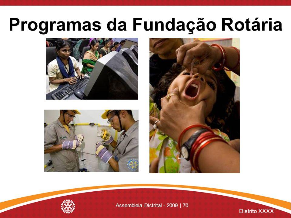 Programas da Fundação Rotária